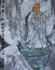《真实不虚》,纸本重彩,曾慧34X136CM,2012.JPG