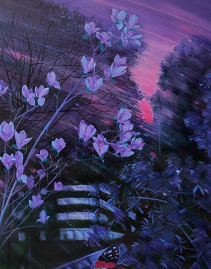 风雨中的蝴蝶二  140CM:180CM  2012