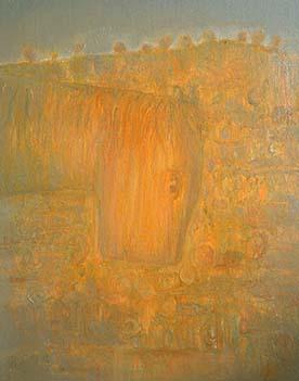 张扬〈山路〉布面油画50× 60CM 2013年6月