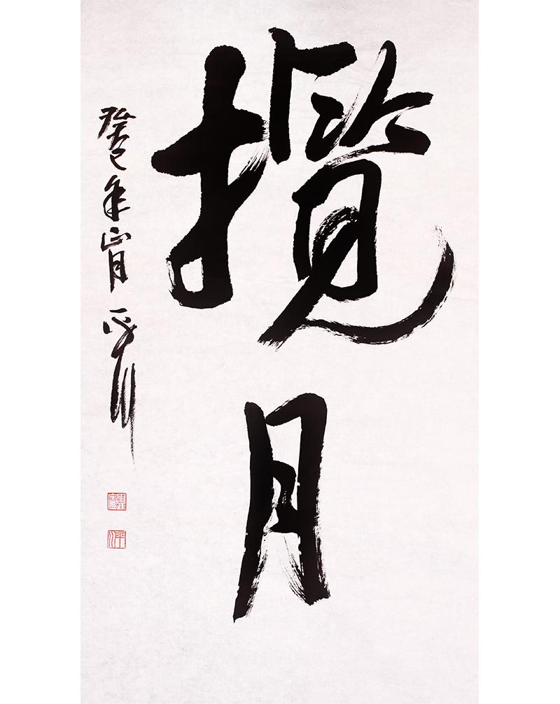 吴平川 《揽月》