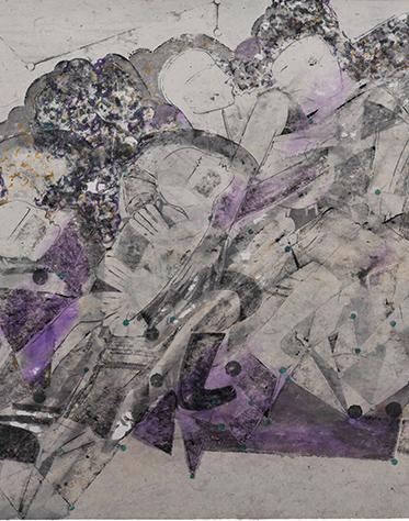 魏建明《记忆心电图之紫 》  首页