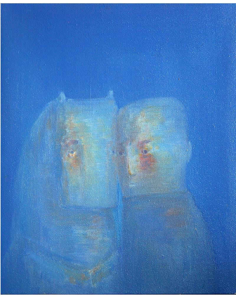 张扬〈伙伴〉布面油画