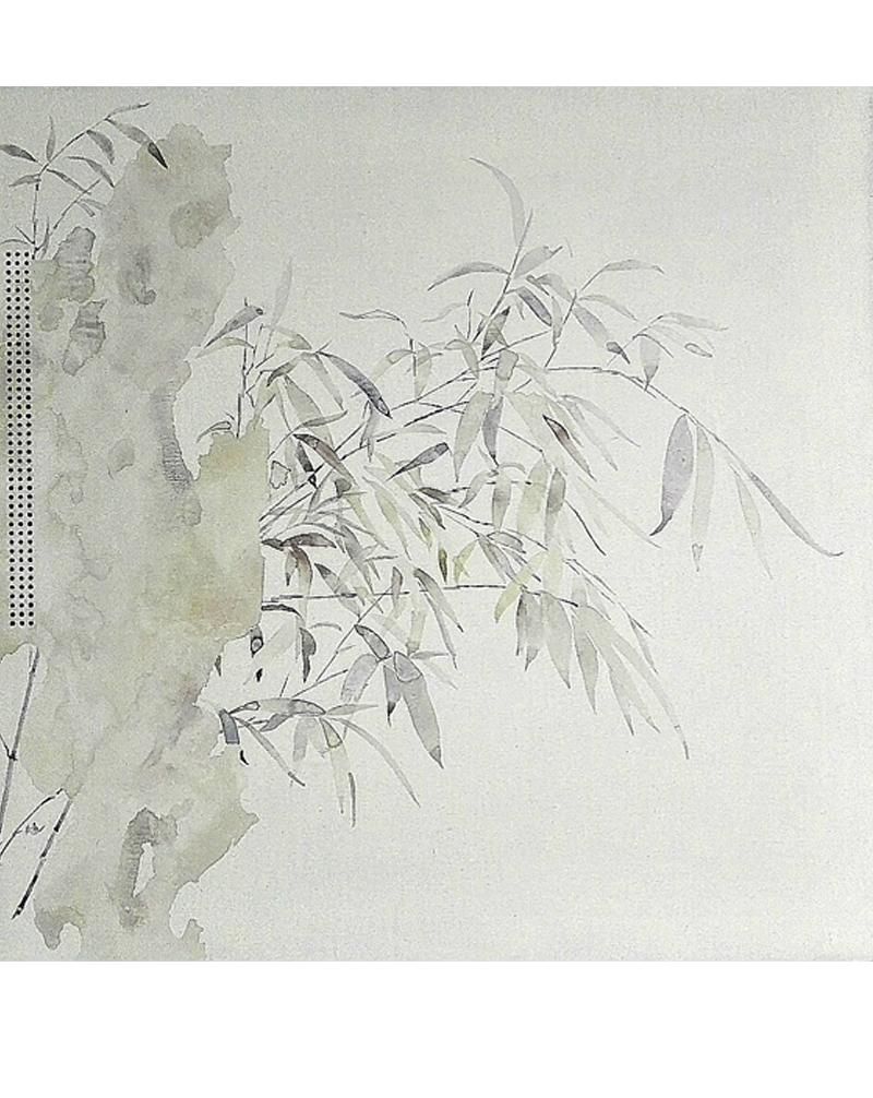 局部图-《花期时时No.160619》60×60cm布面油画2016
